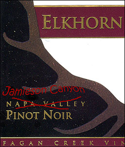 'Jamieson Canyon' Pinot Noir